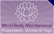 Mind-Body Maintenance - Acupressure, Yoga and Shiatsu in Dorset