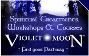 Violet Moon - Spiritual Treatments, Workshops and Courses
